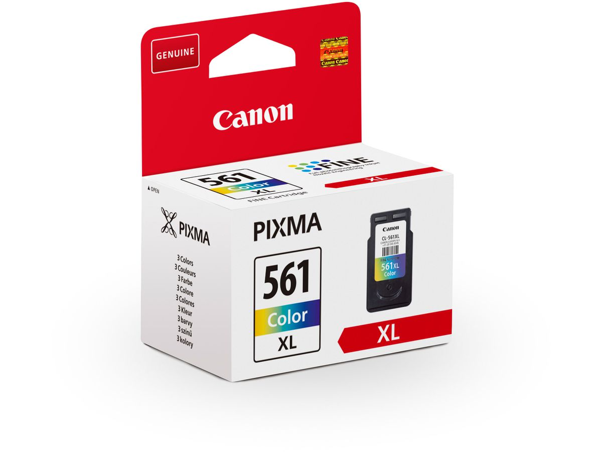 CANON Tintenpatrone color CL-561 PIXMA TS 5350 8.3ml (4549292145038)